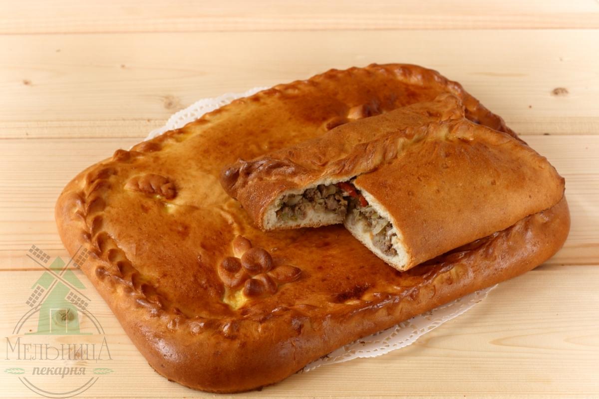 Пирог мясо-капустный