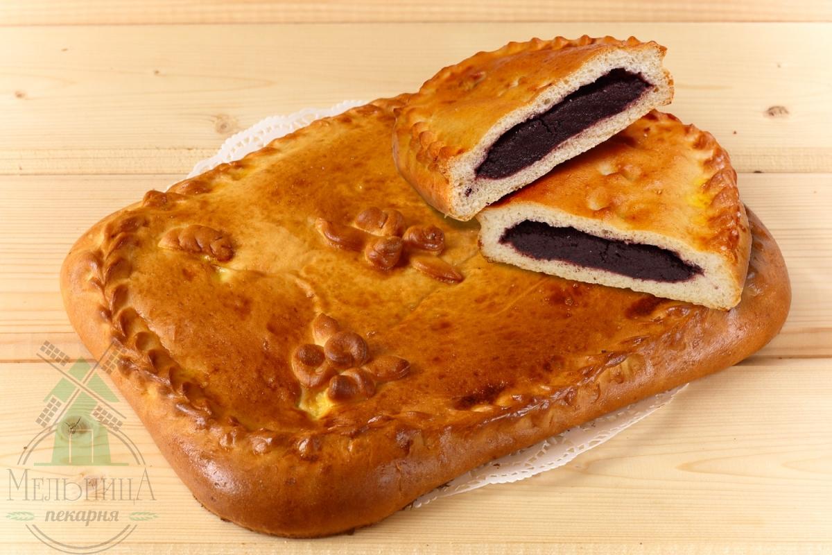 Пирог с черемухой