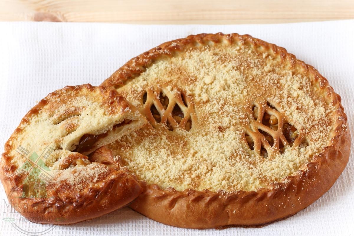 Пирог ябл+вишня